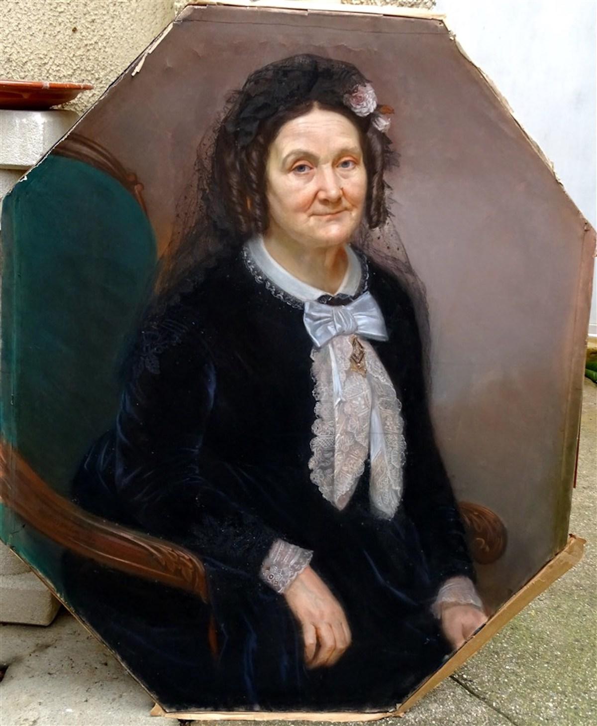 Tableau Georges-Daniel De Monfreid 1856-1929 Grand Portrait De Dame    BolezArt