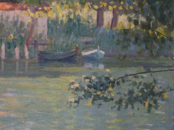 Bord d'étang